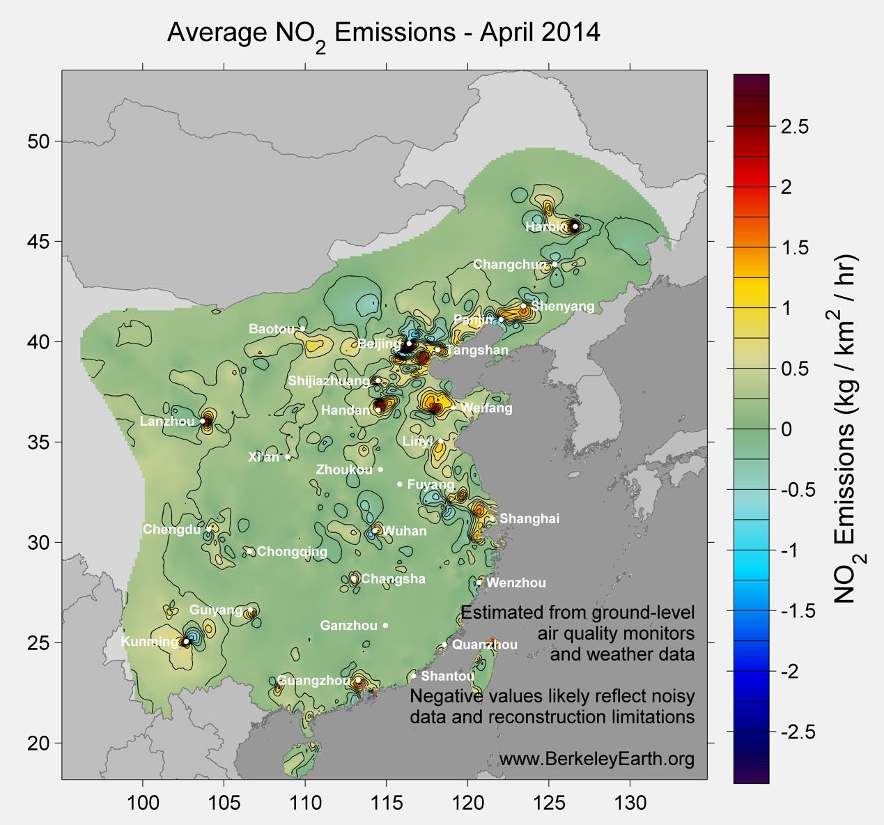 China_no2_Emissions_April