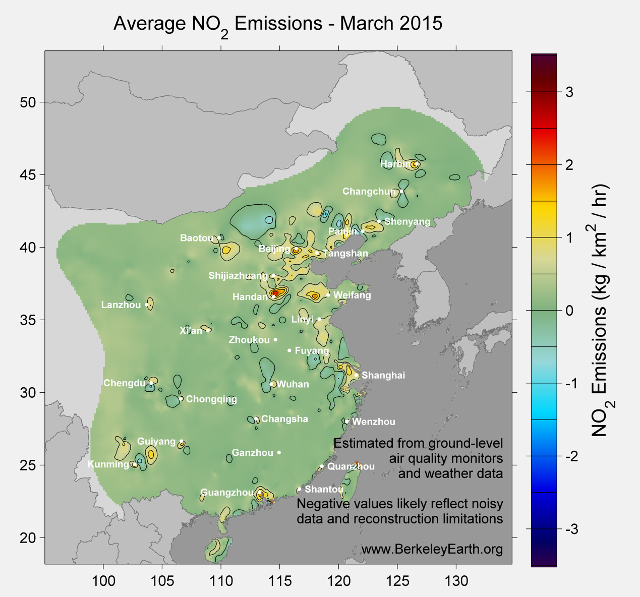 China_no2_Emissions_March